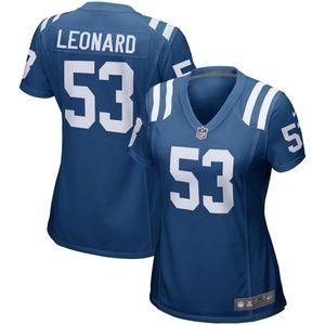 Women's Indianapolis Colts Darius Leonard Jersey